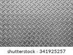 dotted metal plate. shiny steel.... | Shutterstock . vector #341925257