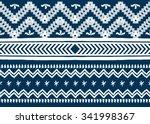 geometric ethnic pattern... | Shutterstock .eps vector #341998367