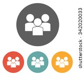 group people icon | Shutterstock .eps vector #342020033