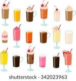 vector illustration of various... | Shutterstock .eps vector #342023963