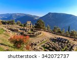 Ruins Athina Pronaia Temple In...