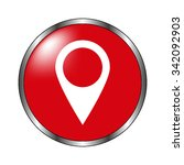 map pointer   vector icon on...