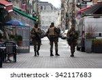 brussels   november 22  belgium ...   Shutterstock . vector #342117683