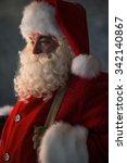 Santa Claus Closeup Portrait
