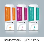 banner on the product... | Shutterstock .eps vector #342141977