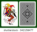 Постер, плакат: Joker playing card and