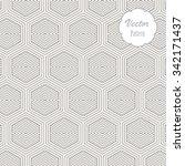 geometric vector pattern ... | Shutterstock .eps vector #342171437