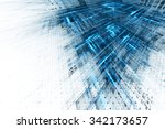 abstract business science or... | Shutterstock . vector #342173657