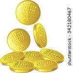 chanukah icons | Shutterstock .eps vector #342180467