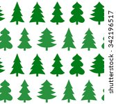 seamless pattern with christmas ...   Shutterstock .eps vector #342196517