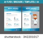 flyer multipurpose design... | Shutterstock .eps vector #342201017