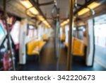 blurry sky train | Shutterstock . vector #342220673