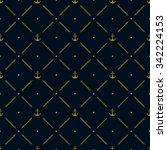 marine seamless pattern... | Shutterstock .eps vector #342224153