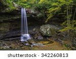Waterfall At The Beginning Of...