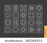 set of minimal  geometric... | Shutterstock .eps vector #342269513