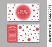 blood donation banner set....   Shutterstock .eps vector #342277073