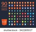 vector illustration of web... | Shutterstock .eps vector #342285017