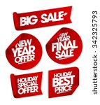 big sale  new year offer  new... | Shutterstock .eps vector #342325793
