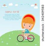Kids Riding Bikes  Child Ridin...