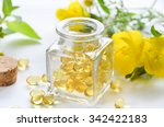 supplement in a bottle with...   Shutterstock . vector #342422183