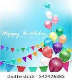 Color Balloons Happy Birthday...
