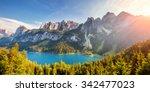 fantastic azure lake vorderer... | Shutterstock . vector #342477023