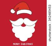 santa's background card | Shutterstock .eps vector #342485453