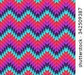 aztec seamless pattern. vector | Shutterstock .eps vector #342509387
