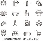 argentina icons | Shutterstock .eps vector #342512117