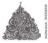 hand drawn ornamental doodle