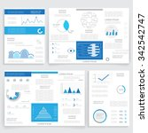 business graphics brochure ... | Shutterstock .eps vector #342542747