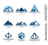 pyramids  6  | Shutterstock .eps vector #342551837