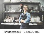 craftsman handmade artist... | Shutterstock . vector #342602483