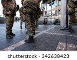 brussels   november 23  belgium ...   Shutterstock . vector #342638423