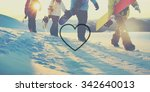 heart love togetherness romance ... | Shutterstock . vector #342640013