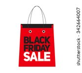 black friday sale label...   Shutterstock . vector #342664007
