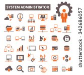 system administrator | Shutterstock .eps vector #342686057