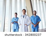 group of medical staff at... | Shutterstock . vector #342800237