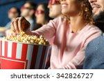 popcorn forever. closeup...   Shutterstock . vector #342826727