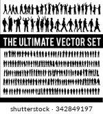 vector business people... | Shutterstock .eps vector #342849197