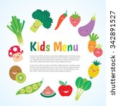 kids and children meal menu...