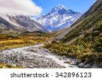 aoraki mount cook | Shutterstock . vector #342896123