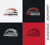car services logo automotive... | Shutterstock .eps vector #342910997