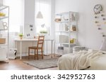 picture of new room with... | Shutterstock . vector #342952763