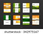 set of modern design banner... | Shutterstock .eps vector #342975167