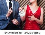 clock men and women | Shutterstock . vector #342984857