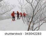 deogyusan korea   january 23 ... | Shutterstock . vector #343042283