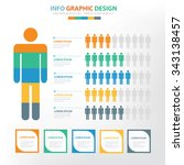 human infographic elements... | Shutterstock .eps vector #343138457