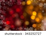 christmas background of colored ... | Shutterstock . vector #343252727