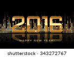 Vector   Happy New Year 2016  ...